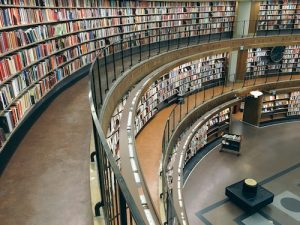 Spiral in library
